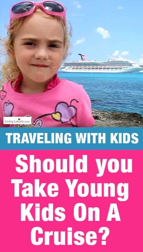 Tips for a Cruise Vacation with Young Kids. Not sure about taking your toddlers or young kids on a cruise? Here are some tips for traveling on a cruise with kids. Travel blogger review of Carnival.