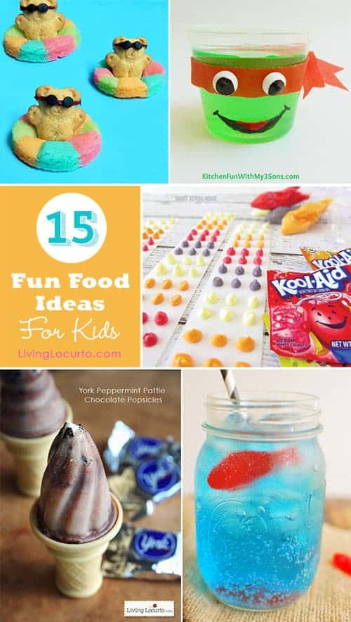 15 Summer Fun Food Ideas For Kids ~ LivingLocurto.com