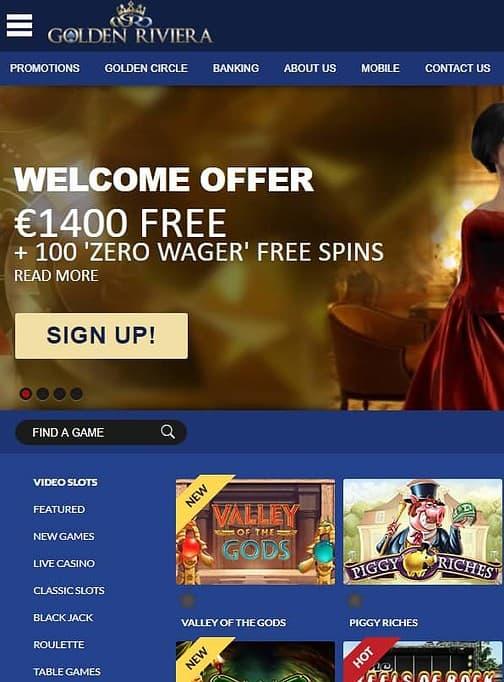 Golden Riviera Casino Review