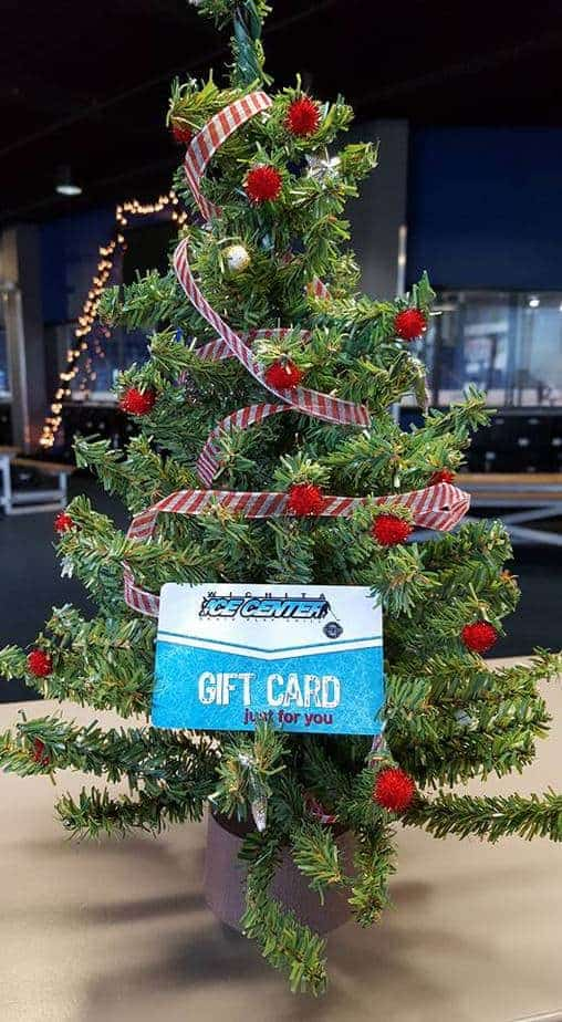 wichita ice center gift cards holiday