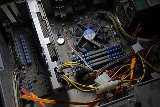 Staub im PC - PC-Pannenhilfe