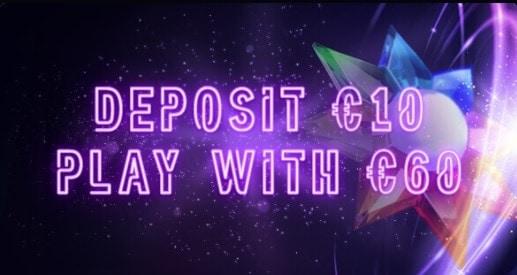 Deposit 10 get 60