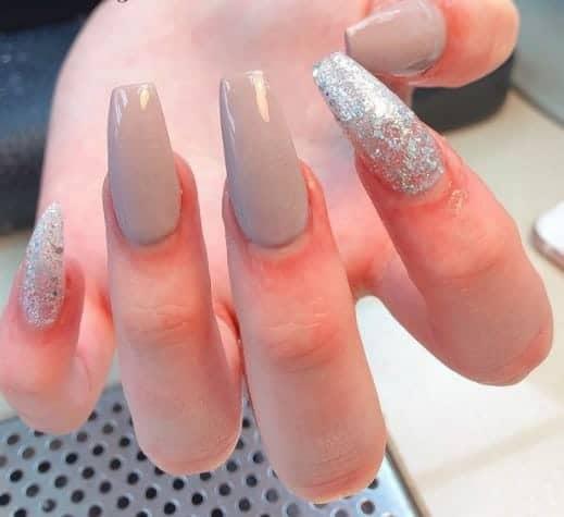 glitter Long press on nails
