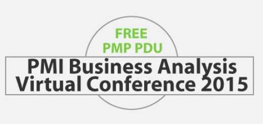 FREE 6 PDU for Attending PMI Business Analysis Conference 2015