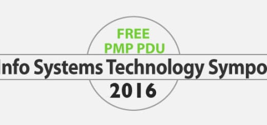 6 FREE PMP PDU / PMI-ACP PDU for Attending PMI Information Systems Technology Symposium 2016 (30 June, 2016)