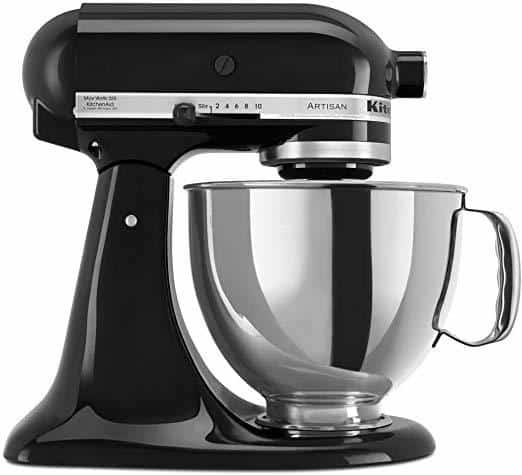 onyx black kitchenaid mixer