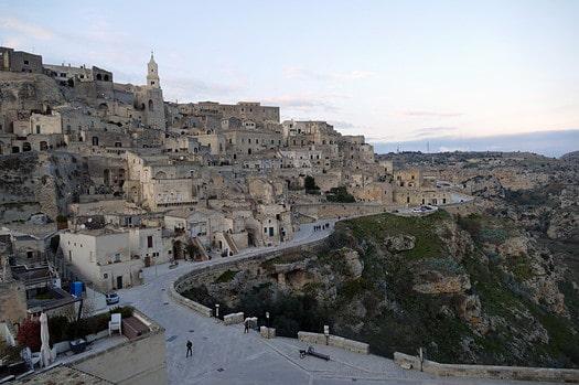 Altstadt von Matera