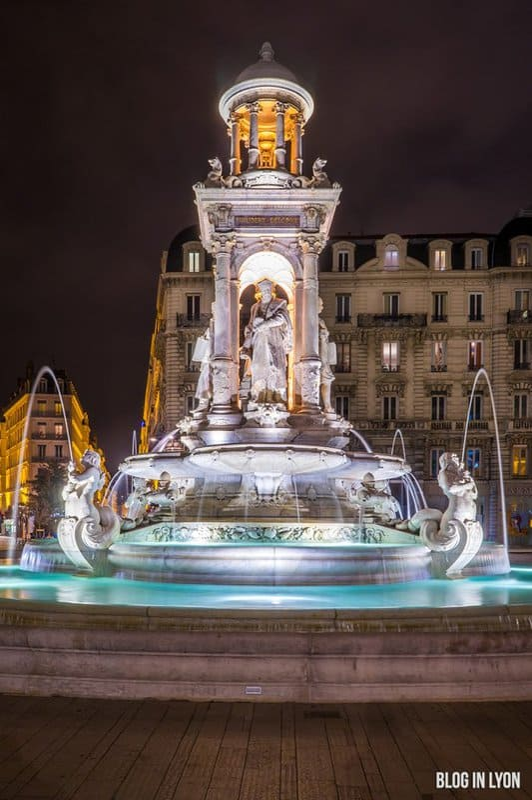 Fontaine Place des Jacobins   Blog In Lyon - Webzine Lyon