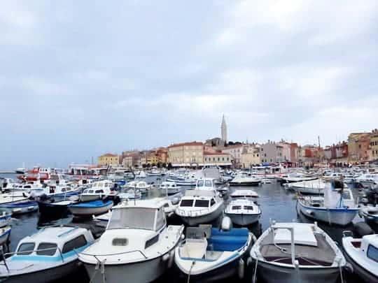 Rovinj, Croatia, Walking On Travels, boats in croatia