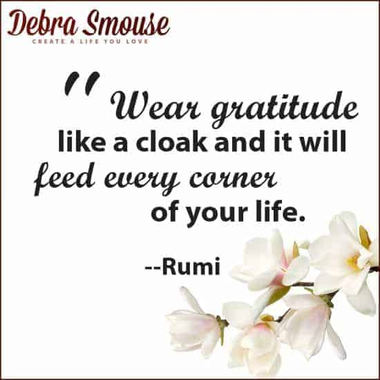Gratitude Quotes Gathered by Debra Smouse