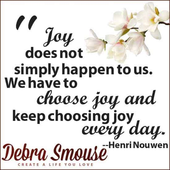 Henri Nouwen on Choosing to Be Happy