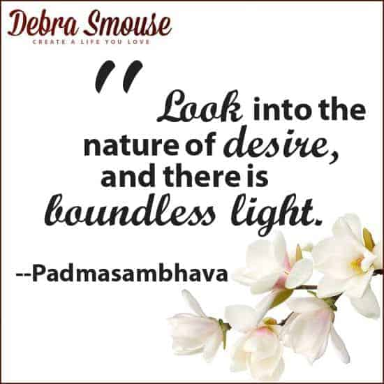 Nature of Desire and Boundless Light