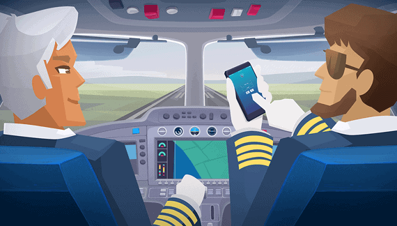 Airplane pilots - Character Animation