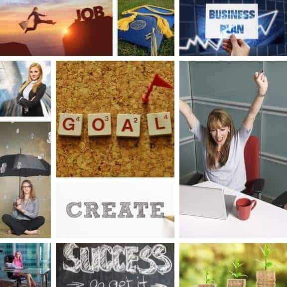 Vision Dream Board Career