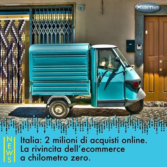 Nei primi 5 mesi del 2020 gli italiani che hanno acquistato online sono stati 2 milioni acquistato online