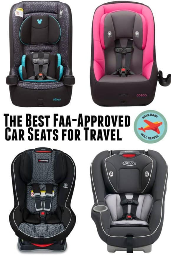 A look at the best FAA-approved car seats for travel.