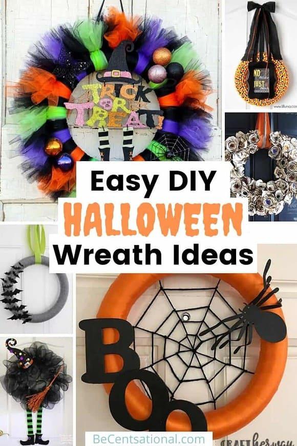 Easy DIY Halloween Wreath Ideas