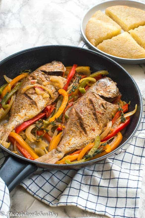 Jamaican steamed fish