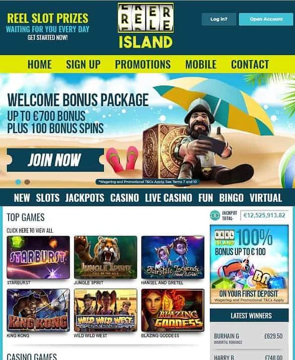 Reel Island Casino Review: free spins, bonus & promotions