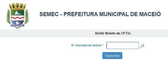 IPTU Maceió - Alagoas