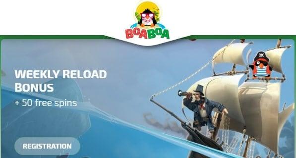 BoaBoa weekly bonus