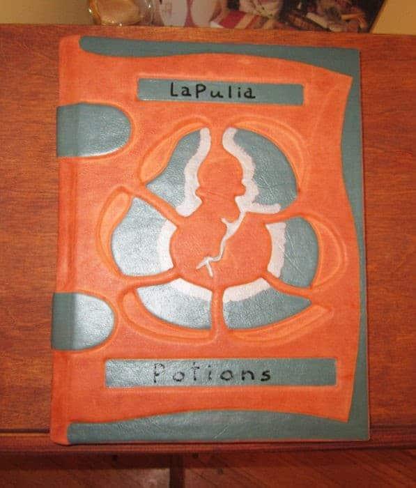 Magic Potions Formulary Grimoire