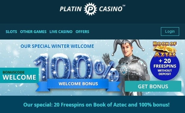 Platin 20 free spins