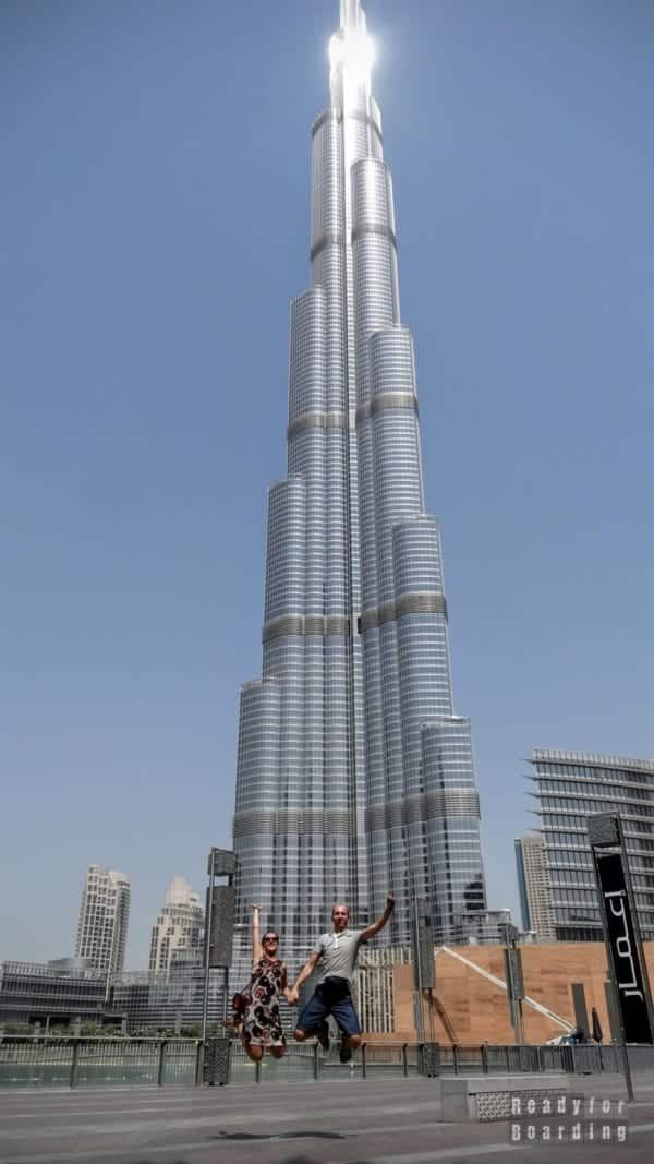 Burdż Chalifa, najwyższy budynek na świecie - Dubaj