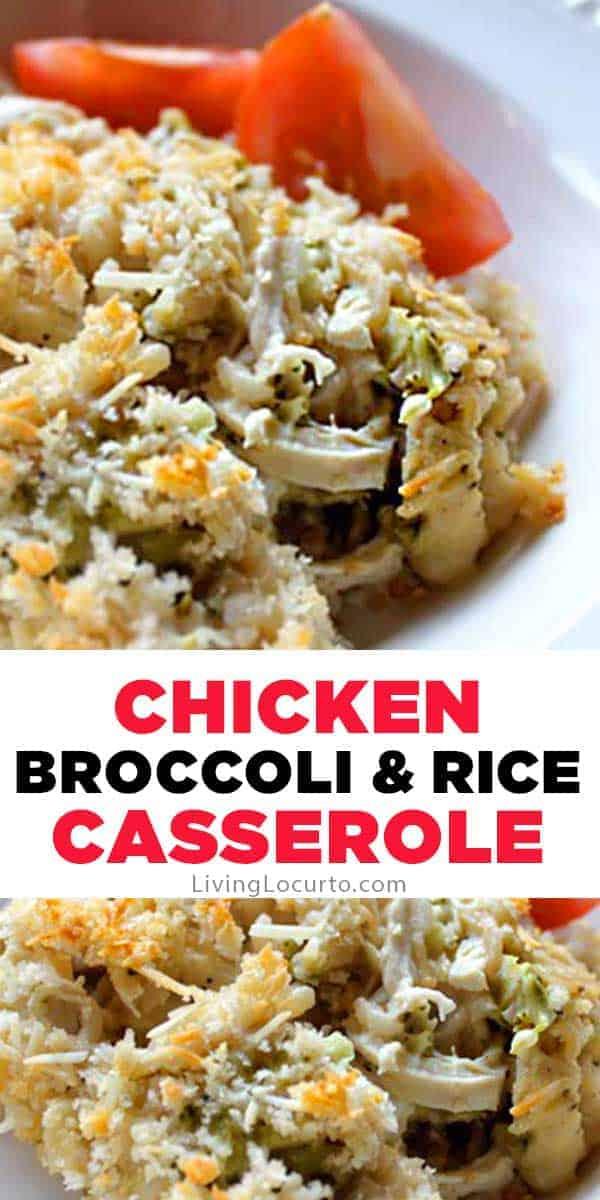 Chicken Broccoli Cheese Casserole Recipe