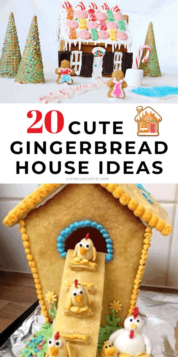 20 Cute Gingerbread Houses