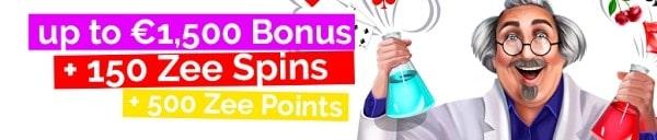 Playzee Casino exclusive welcome bonus