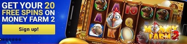 Mongoose 30 free spins bonus without deposit