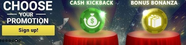 Mongoose cashback, free bet, promotions