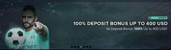 Micro Casino welcome bonus