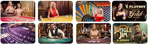 Spin Casino Real Dealer Games