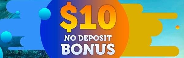 $10 bonus for casino and poker