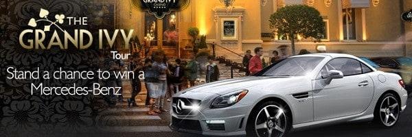 Win a car and The GrandIvy Casino!