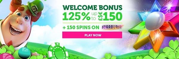 150 EUR free bonus on casino games