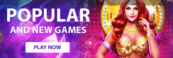 Play the best online casino slots and live casino games