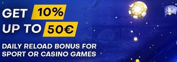 Bettilt Casino reload bonuses