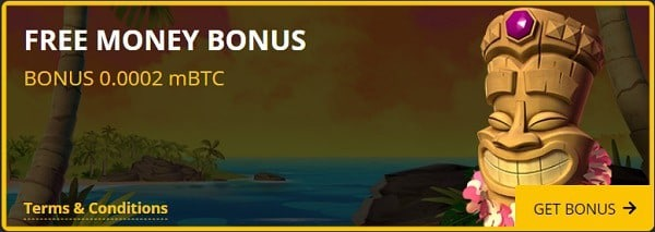 Free Cash Bonus, no deposit required!