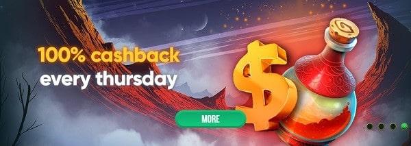 100% Cashback