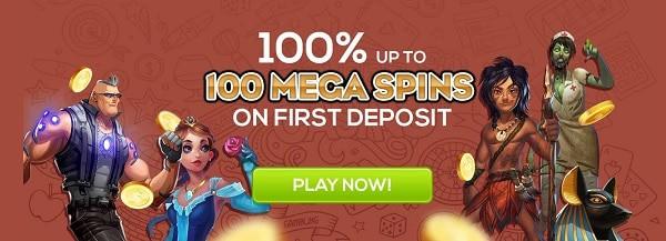 Queen Vegas Casino welcome bonus