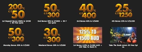 24K Casino bonuses and free spins promotions