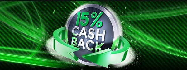 Tangiers 15% cashback