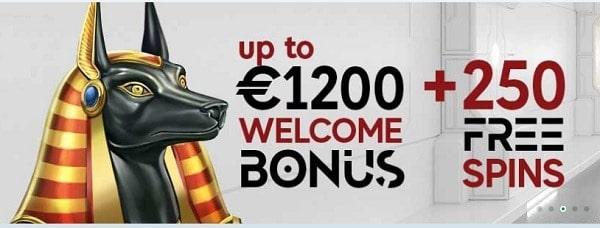 GoPro Casino 250 free spins