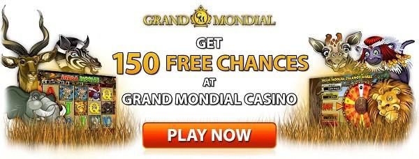 Play 150 free rounds on Mega Moolah jackpot