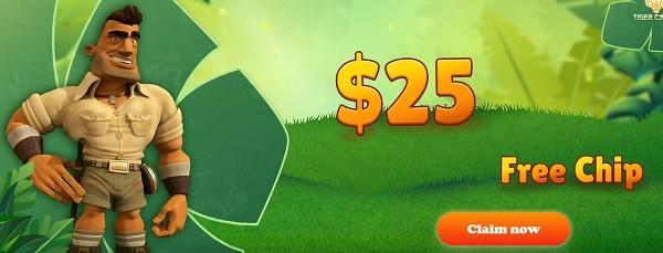 $25 free chip bonus