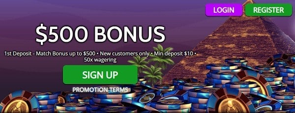 Register to Mummy's Casino and get 25 free spins!
