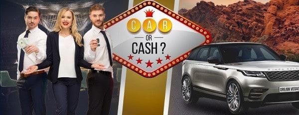 Dream Vegas Casino cash spins